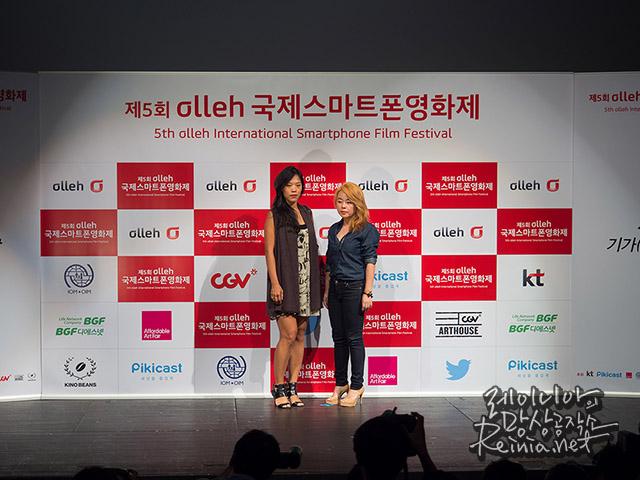 (영화제작자 시-칭쩌우와 아티스트 니키 리)