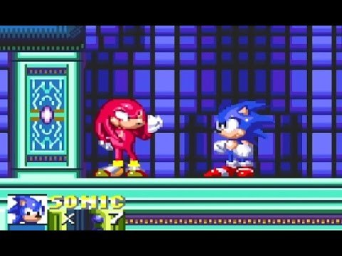 Sonic the hedgehog - sonic vs knuckles