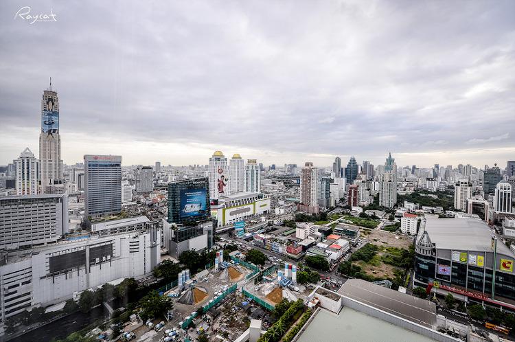 방콕시내 전경