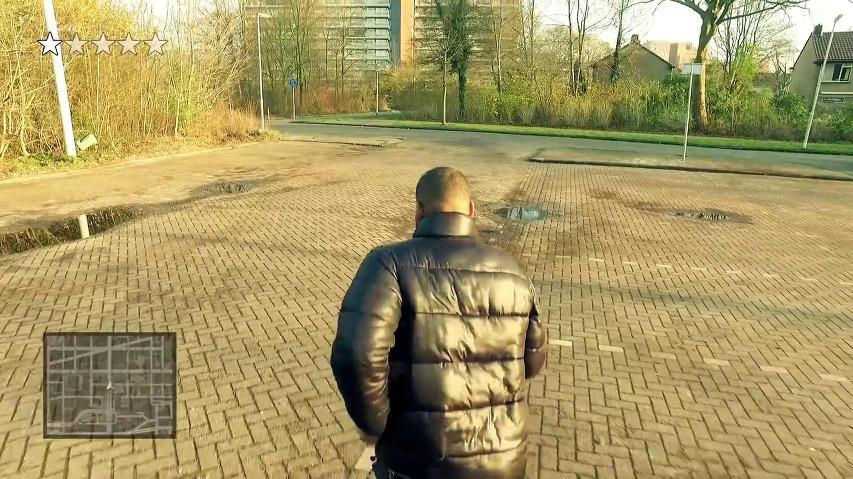 인기 게임 GTA(Grand Theft Auto)를 실사화, 오마쥬한 네덜란드 랩퍼 Hef의 신곡 Kofferbak(트렁크)의 뮤직비디오 Grand Hef Auto.