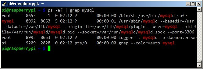 라즈베리파이 Raspberry Pi MySQL 데이터베이스 설치방법 리눅스 라즈비안 MySQL서버 구축