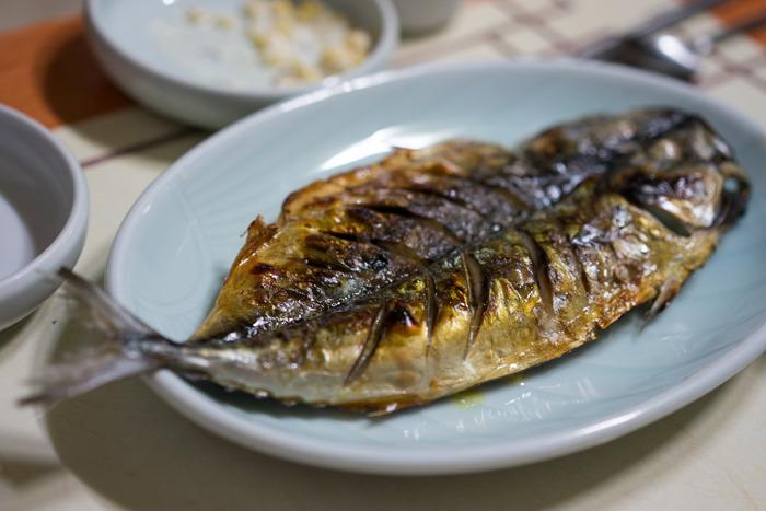 [산청 맛집] 달콤 매콤한 대구뽈찜이 맛있는 생선구이집 원지마을 - 원지 정류소 맛집