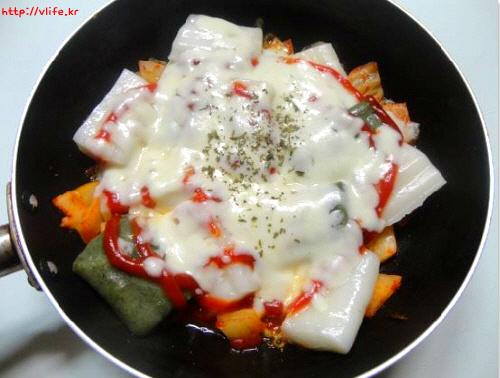 김치 피자