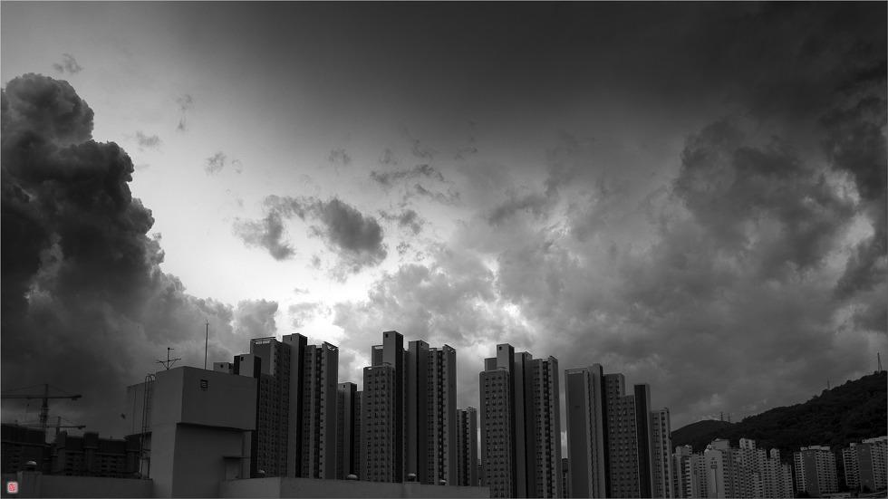 [삼성NX500] 하늘이 구름을 머금다