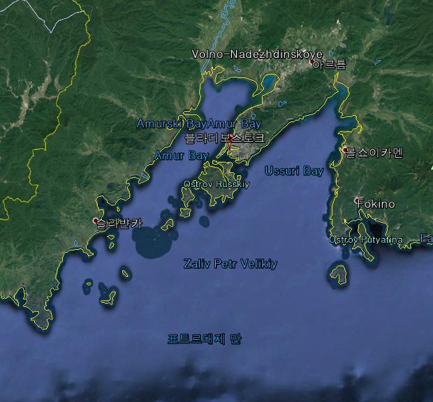 러시아 탐방기 1. - 러시아의 征東行省 블라디보스토크(Vladivostok)