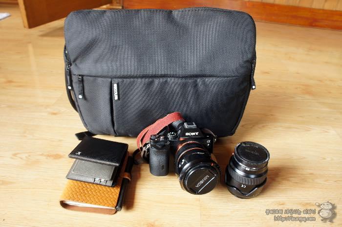 인케이스 슬링백 CL58032 후기, 깔끔한 출사용 카메라 슬링백