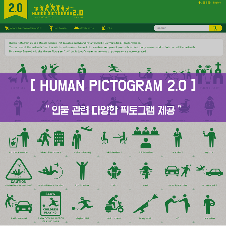 HUMAN PICTOGRAM 2.0