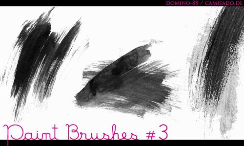 3 가지 무료 포토샵 붓 브러쉬 - 3 Free Photoshop Paint Brushes
