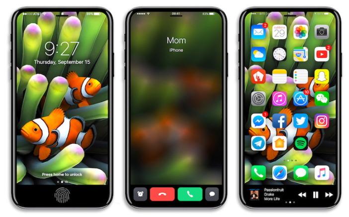 아이폰8 컨셉 사진