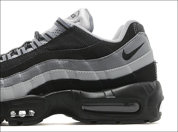 Nike Air Max 95 Black Wolf Grey