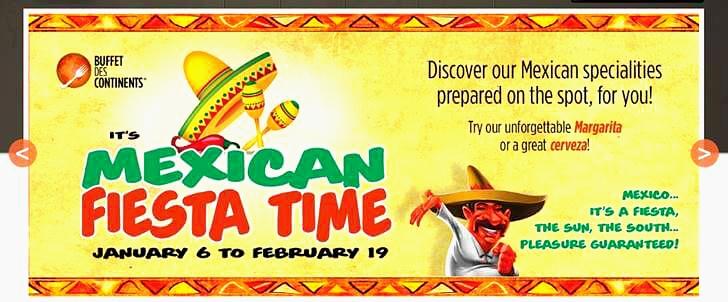 멕시칸 푸드 축제 안내 입니다