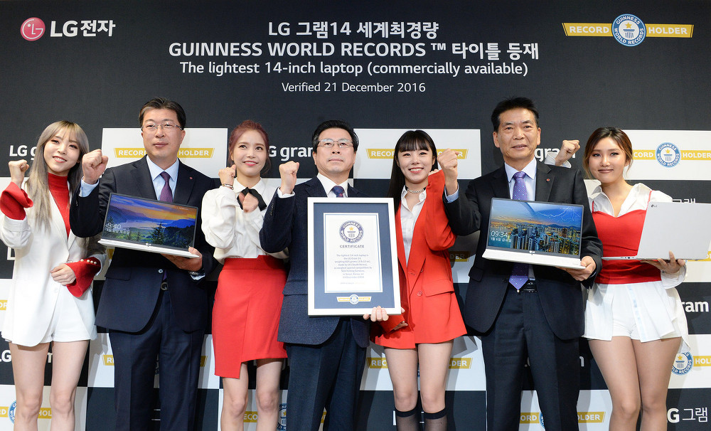 가볍기만한 노트북? <LG 그램> 을 주목해야 하는 이유, 2017 LG 그램 기네스 인증 & 미디어 간담회 현장