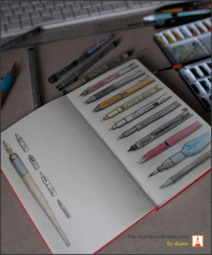 몰스킨 스케치북 moleskine