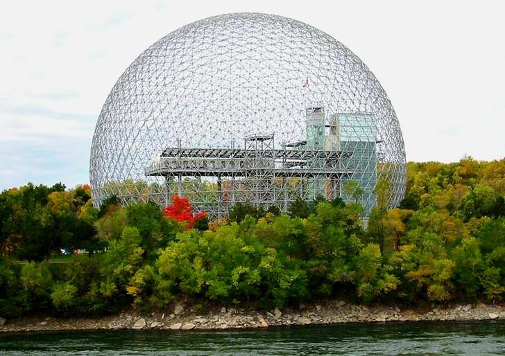 몬트리올 엑스포 67 건물입니다