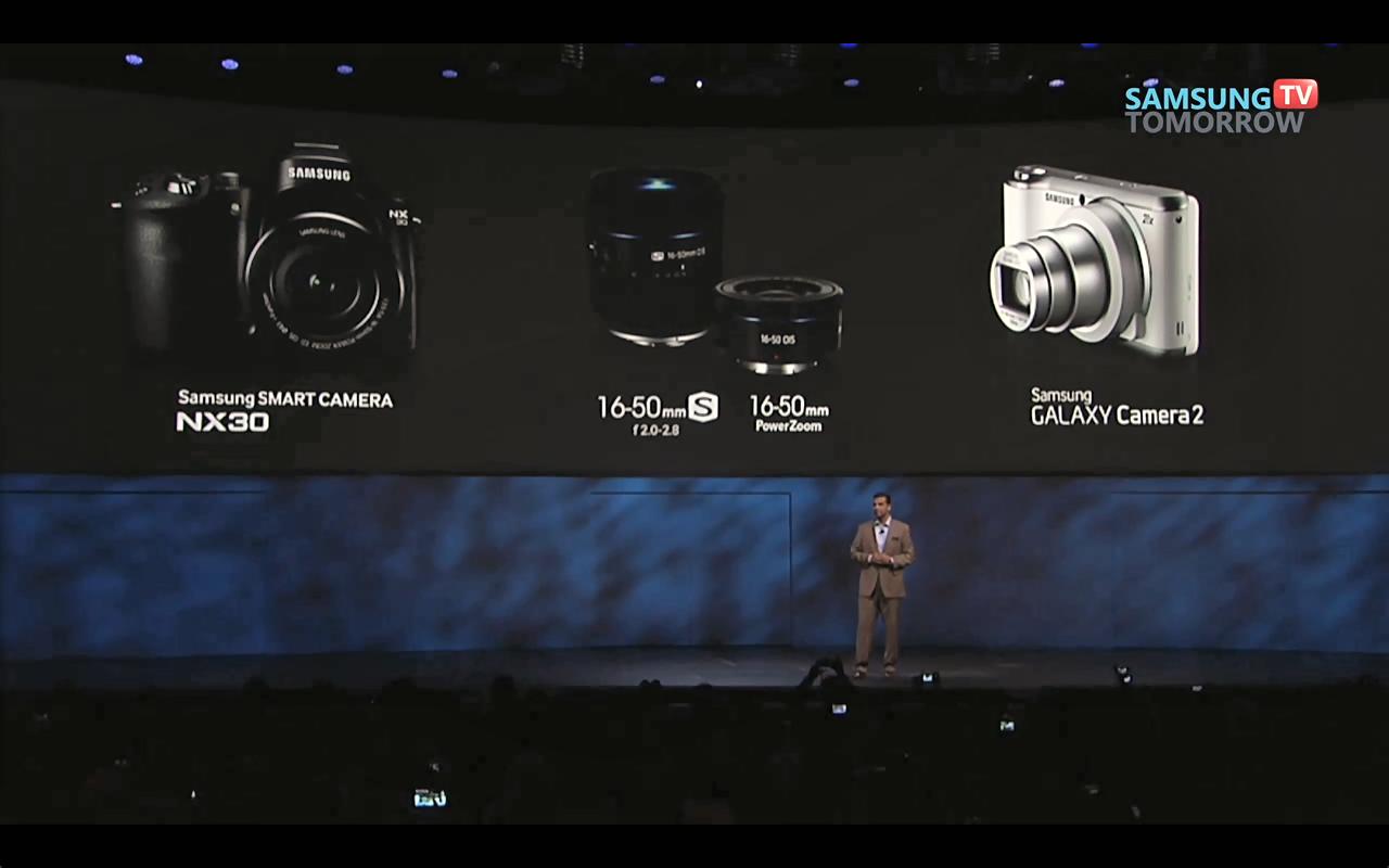 CES 2014, 삼성전자, 카메라, NX30, NX30 특징, 갤럭시 카메라2, 갤럭시 카메라2 특징, 미러리스 카메라, 렌즈 교환형, 안드로이드 카메라, NFC, Tag & Go, Photo Beam, Mobile Link, Remote View Finder