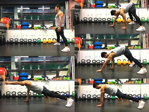 체중을 이용한 다이어트 운동 3가지 (전신 운동 / 코어운동 / 플랭크)