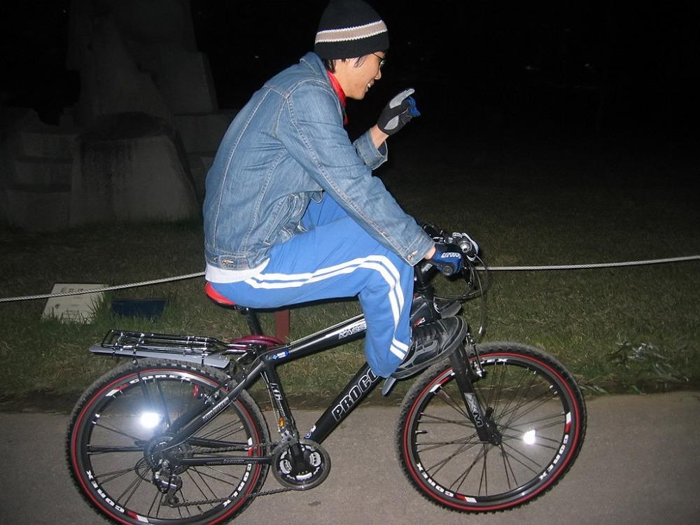 자전거로 달리자 - 여행가기전 기초체력강화용 밤바리 : 26530748513B8A2423D464