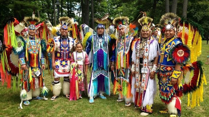 북미 원주민 모호크 족입니다