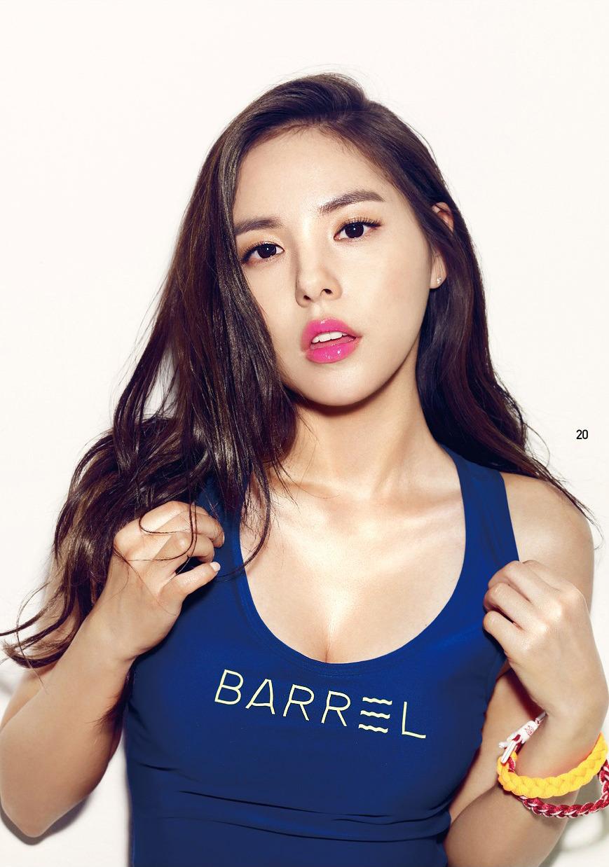 민효린 BARREL 화보 & 오키나와 영상