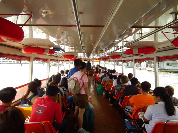 태국 방콕 수상 보트