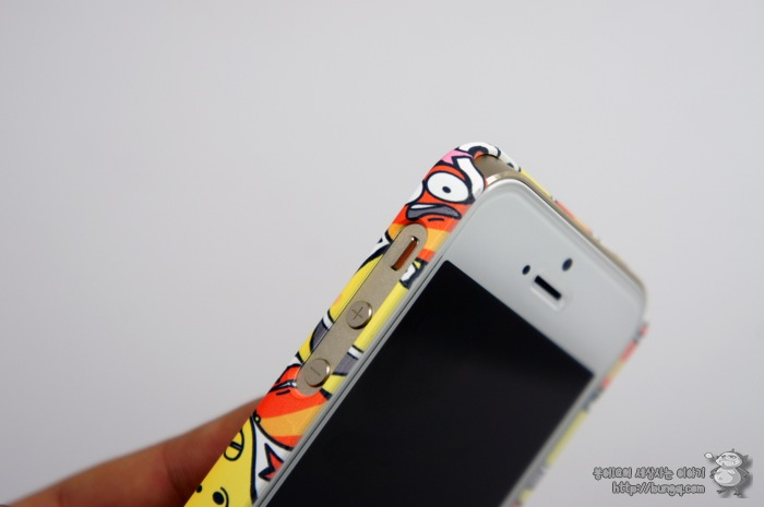 아이폰5S 라바 케이스