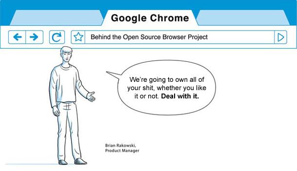 구글에서 크롬이 나왔어요 :)