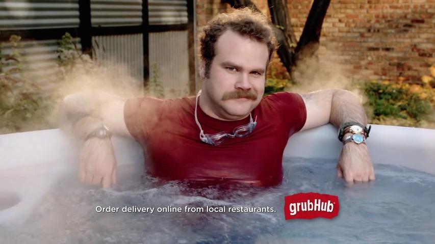 미국의 레스토랑 배달음식 서비스, 그럽허브(Grubhub)의 TV광고 - 다양한 옵션을 좋아하는 남자 '데니스(Dennis)'편 [한글자막]
