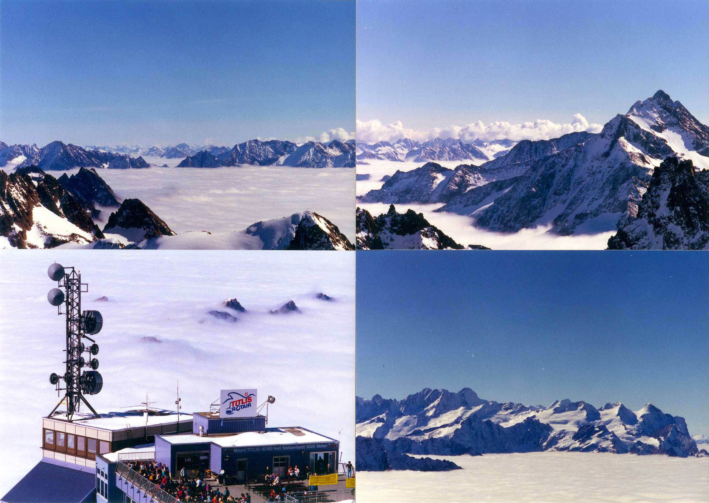 1996년 스위스 Titlis 산