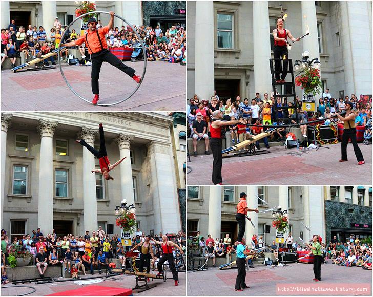 The Ottawa International Buskerfest 캐나다 오타와 국제 버스커 축제 이벤트 볼거리
