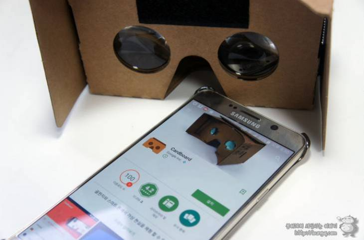 구글, 카드보드, 3d, VR, 가상현실, 삼성기어VR, 오큘러스