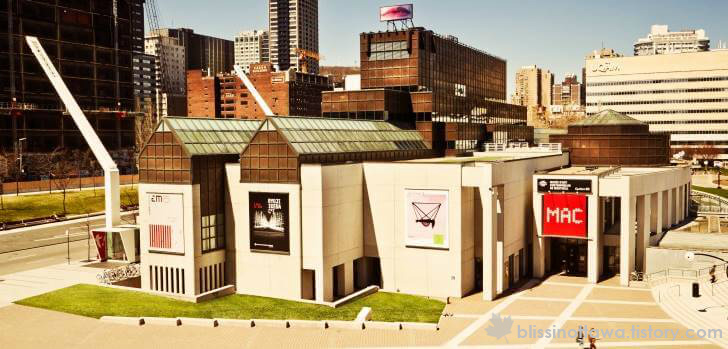 캐나다 몬트리올 현대 미술관 입니다