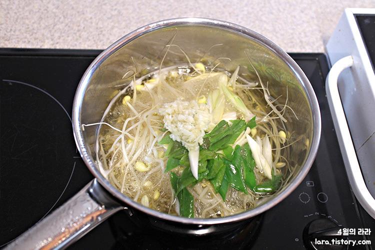 콩나물국_콩나물국끓이는법
