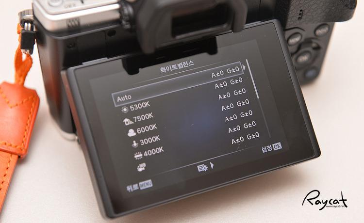 올림푸스 카메라 자동 화이트밸런스