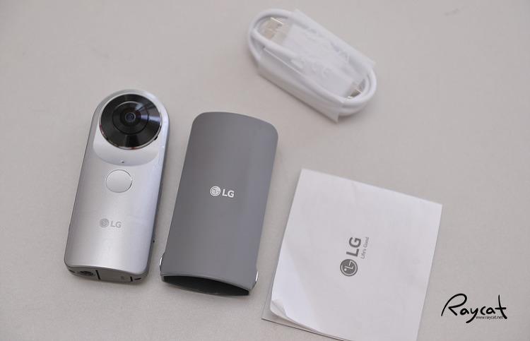 LG 360 CAM 구성품