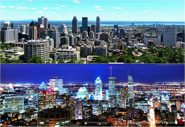 몬트리올 몽 로열 전망대입니다