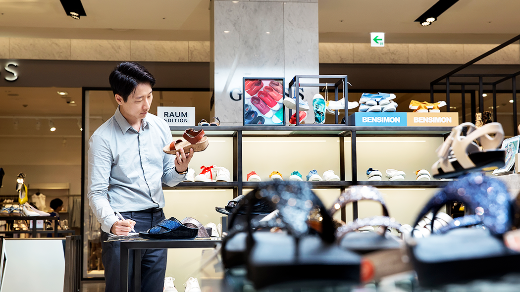 현대백화점 슈즈 바이어 김누리 대리