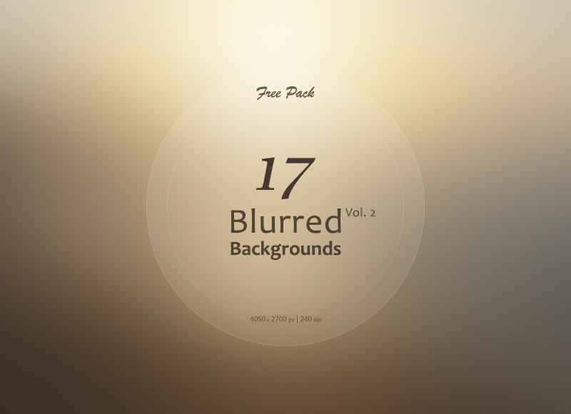 17 가지 무료 고화질 블러 백그라운드(배경) 이미지 - 17 Free High Resolution Blurred Backgrounds
