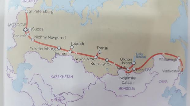 러시아 탐방기 2. - '체험 삶의 현장' 시베리아 대륙횡단열차