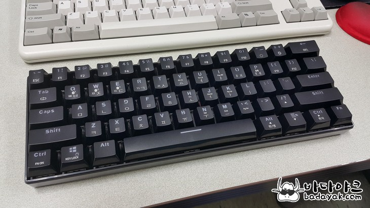 기계식 블루투스 키보드 스카이디지탈 NKEY BT61 유무선 키보드