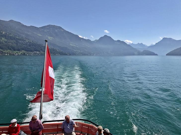 [루체른여행] 베기스(Weggis) → 루체른(Lucerne) 루체른 호수 유람선 타기