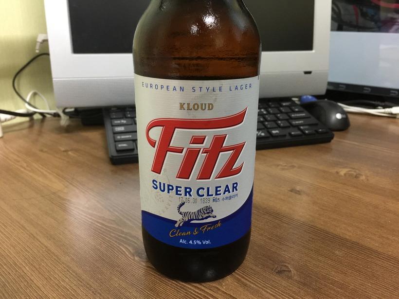 맥주 fitz 피츠 수퍼클리어 조정석 맥주