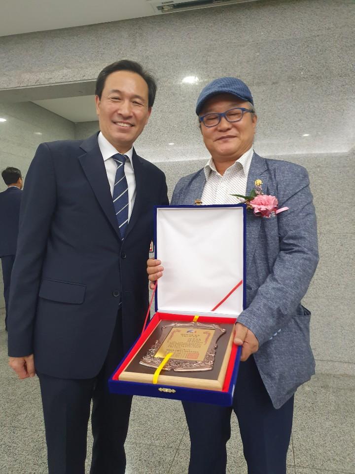 (주)나인업(하경태 대표), 대한민국을 빛낸 자랑스런 인물대상 수상 영예