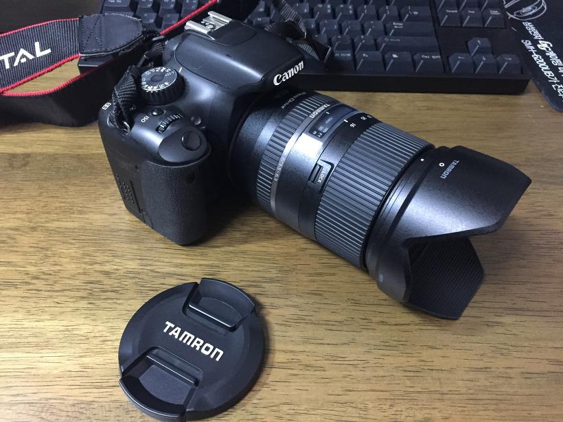 캐논 550D 탐론 16-300