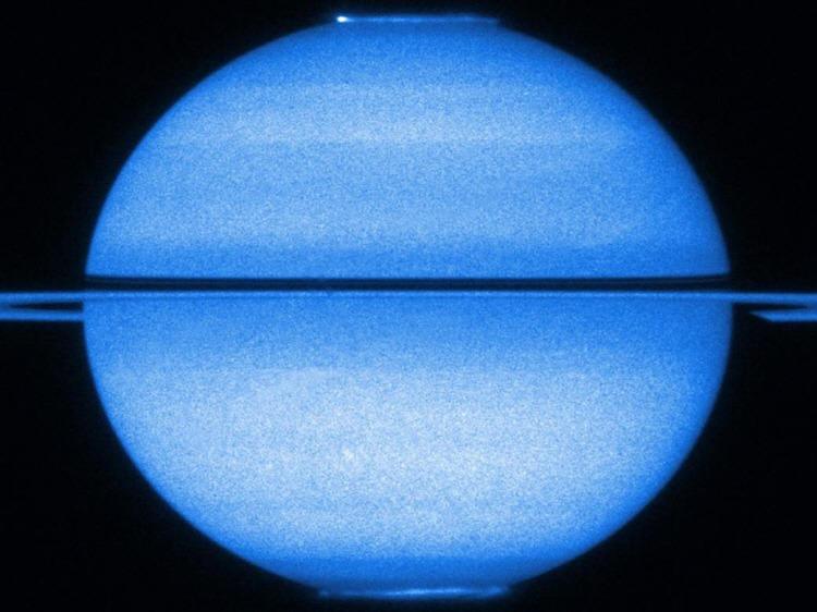 Light Show on Saturn