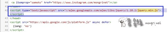 HTML 편집