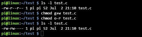 리눅스 파일 권한 변경 chmod 명령어 사용법