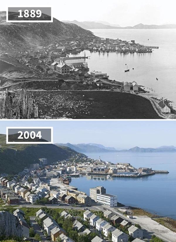 노르웨이, 함메르페스트, 1889~2004