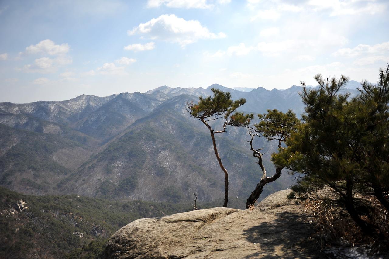 2012년3월 괴산칠보산과 산막이길