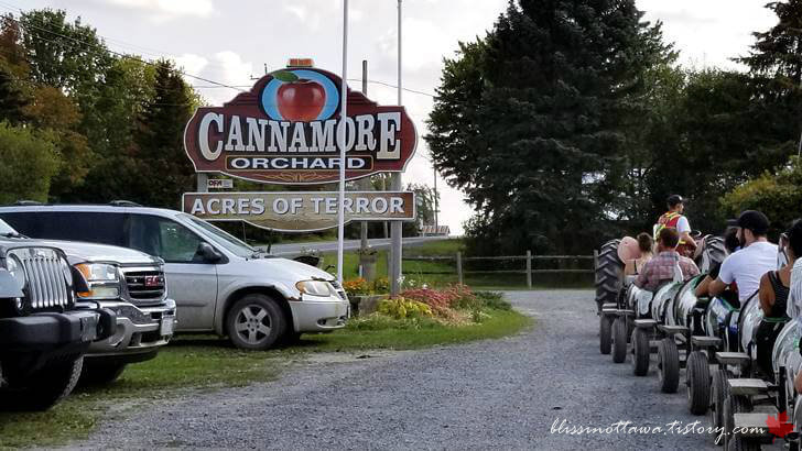 오타와 Cannamore Orchard입니다