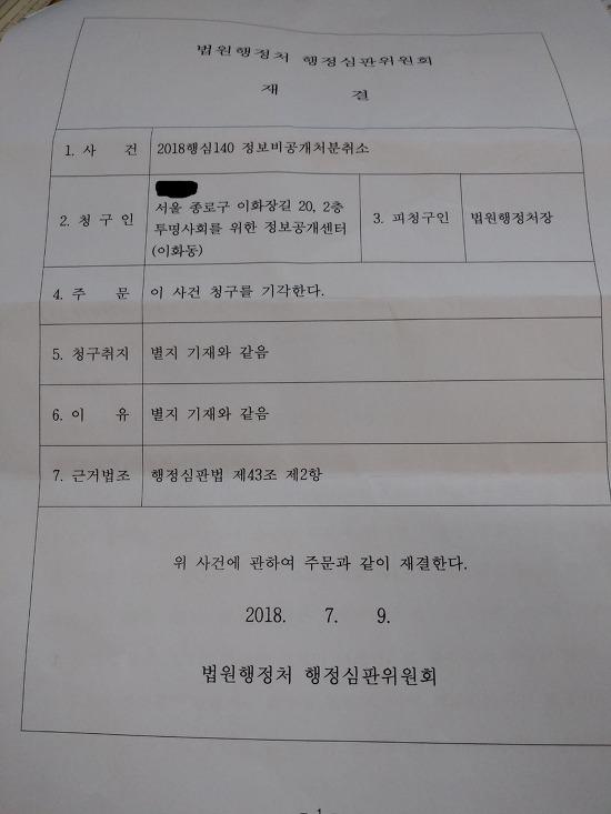 법원행정처의 '사법행정권 남용 의혹' 문건을 공개합니다.